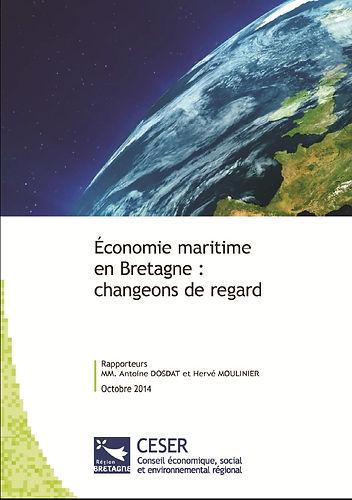 étude  CESER bretagne économie maritime cgt bretagne