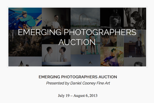 DANIEL COONEY FINE ART'S EMERGING PHOTOGRAPHERS AUCTION