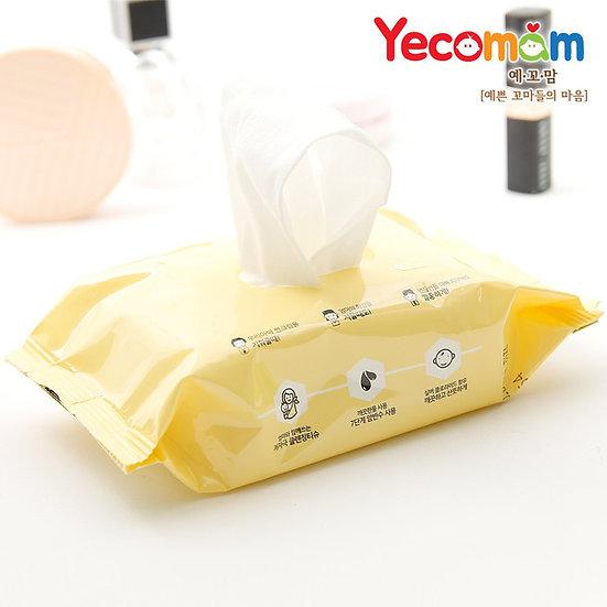 Влажные салфетки для снятия солнцезащитного крема (для детей)
