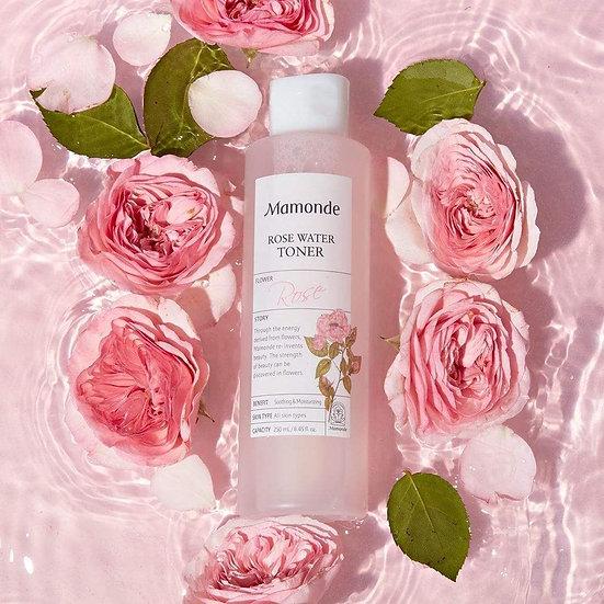 Увлажняющий тонер с экстрактом розы Mamonde Rose water toner 150мл