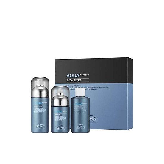 Подарочный набор для мужчин Scinic aqua homme special gift
