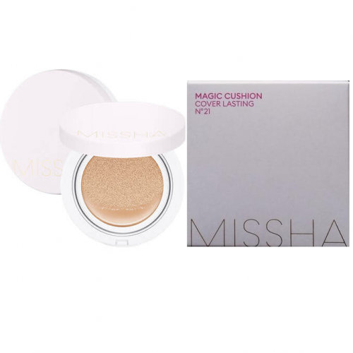 Кушон  Missha Magic Cushion Cover Lasting SPF50+/PA+++