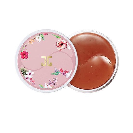 Гидрогелевые патчи для век Jayjun Roselle tea с цветами гибискуса