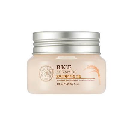 Крем для лица с керамидами и рисом The Face Shop Rice ceramide cream