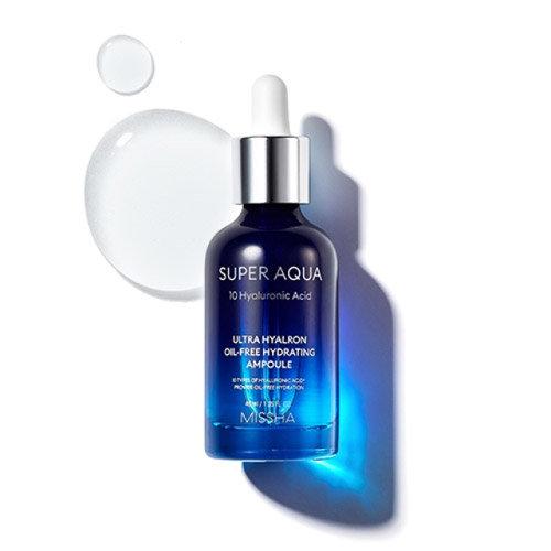 Увлажняющая сыворотка БЕЗ масла Missha super aqua oil free ampoule