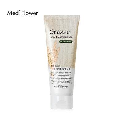 Очищающая пенка с пшеницей Medi flower Grain Facial Cleansing Foam