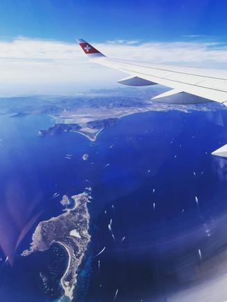 Voyage Swiss air - Ibiza