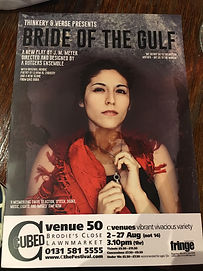 Bride of the Gulf - Edinburgh Fringe Fes