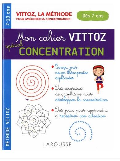 Cahier Vittoz Concentration