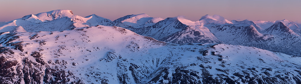 Ben Nevis and The Mamore Mountains