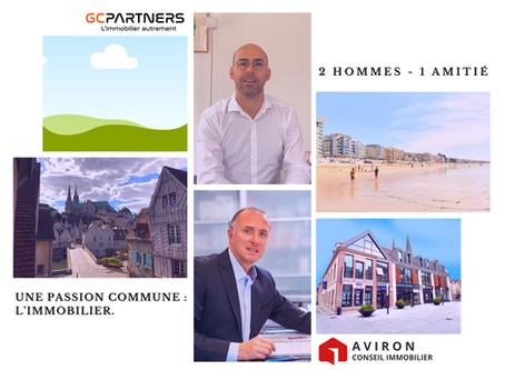 GcPartners Immobilier à La Baule, Aviron Immobilier à Chartres: un nouveau partenariat d'agences!
