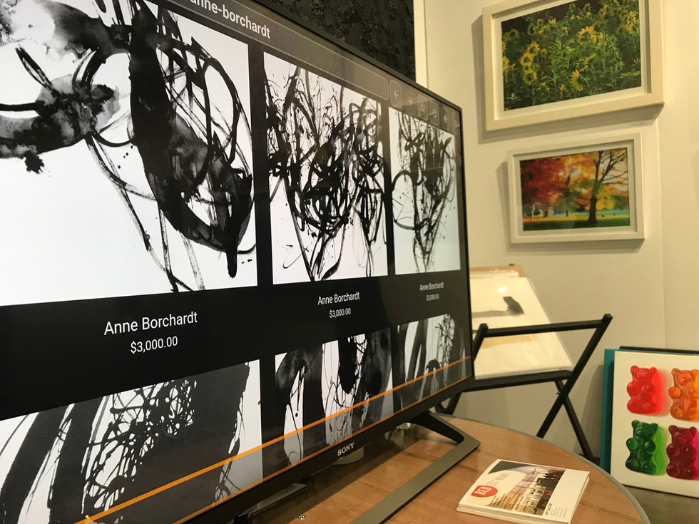 Portfolio feature at Red Dot Miami during Art Basel Miami 2018