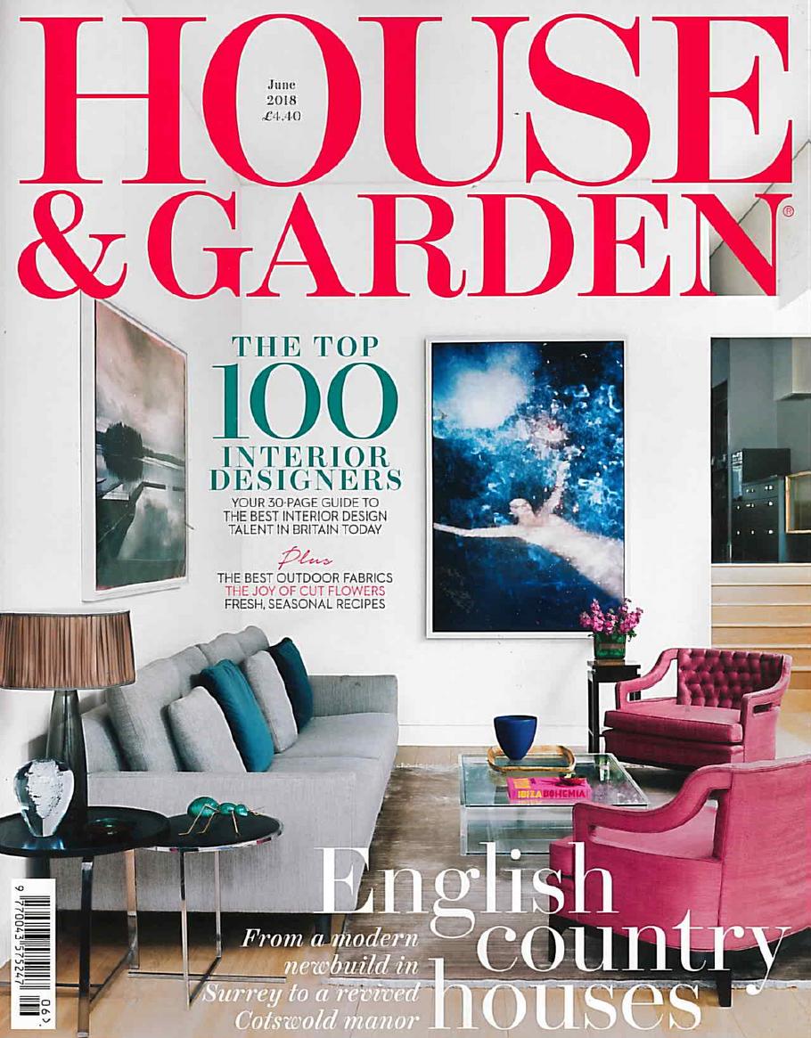 House & Garden June issue 2018, London