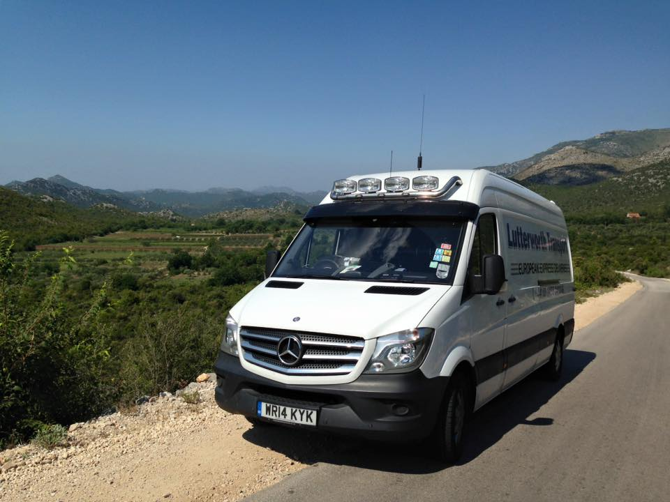 Lovely shot of one of our fleet out in the German Hills