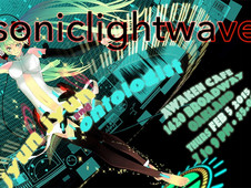 "ONTOLOGIST and JYUN JYUN perform ""SONICLIGHTWAVE"" at Awaken Cafe"