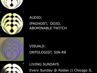 DOJO and TWITCH with IPAGHOST at Rodan