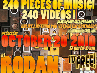 360° Video and Music in Chicago at Rodan!!!