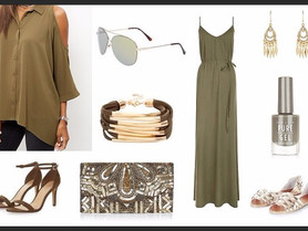 A little bit of Khaki - to inspire us through this erratic weather malarkey !