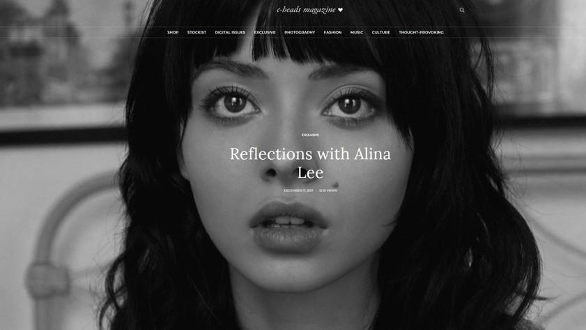 alina lee by theodor versteegen for c-heads magazine