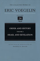 Order and History, Volume 1: Israel and Revelation