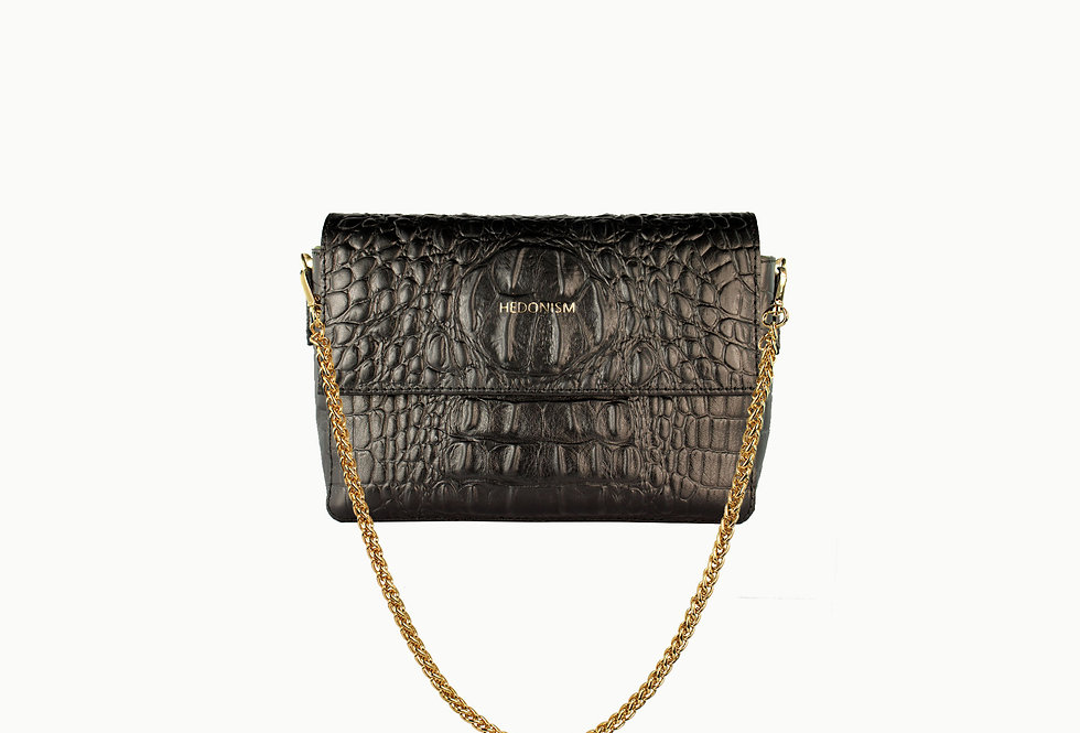 """Crocodile back in town"" belt bag 2in1"