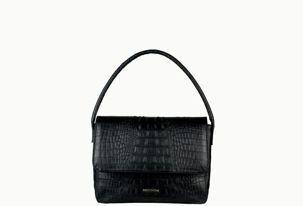 90's crocodile leather bag