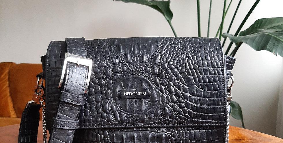 """Crocodile back in town"" cross body bag SAMPLE SALE"