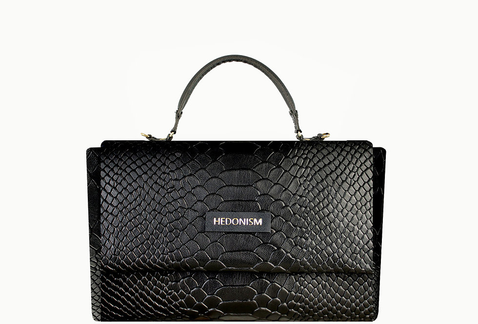 """""""Snake back in town"""" cross body bag. Limited edition"""