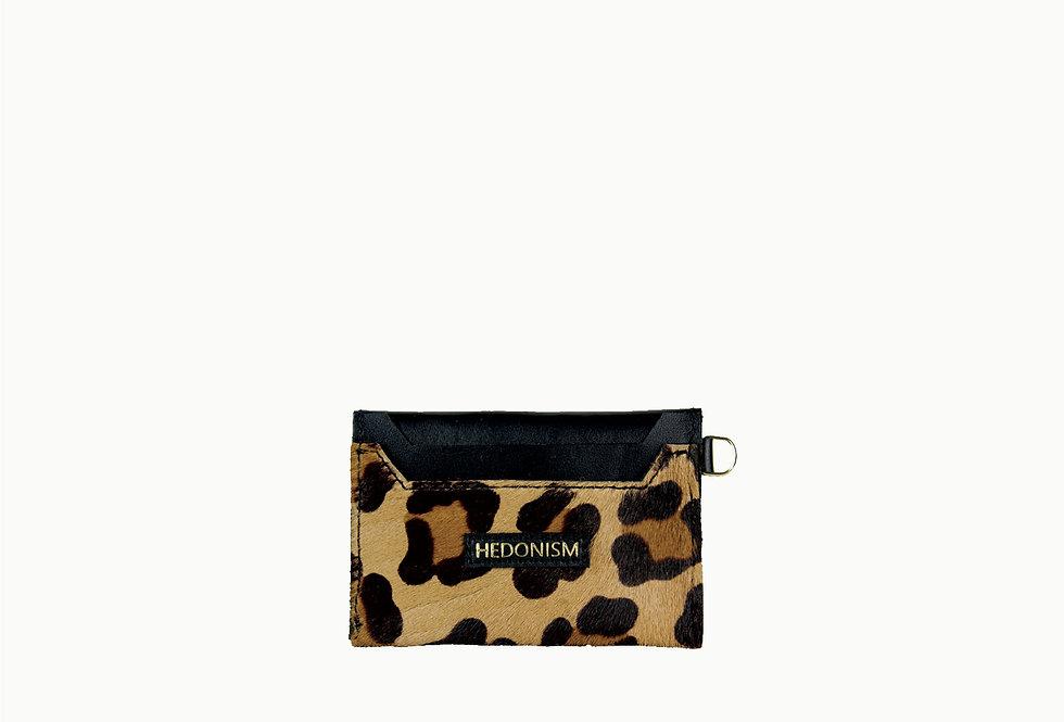 Black&cheetah cardholder, limited edition