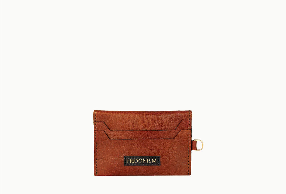 Deep brown cardholder, limited edition