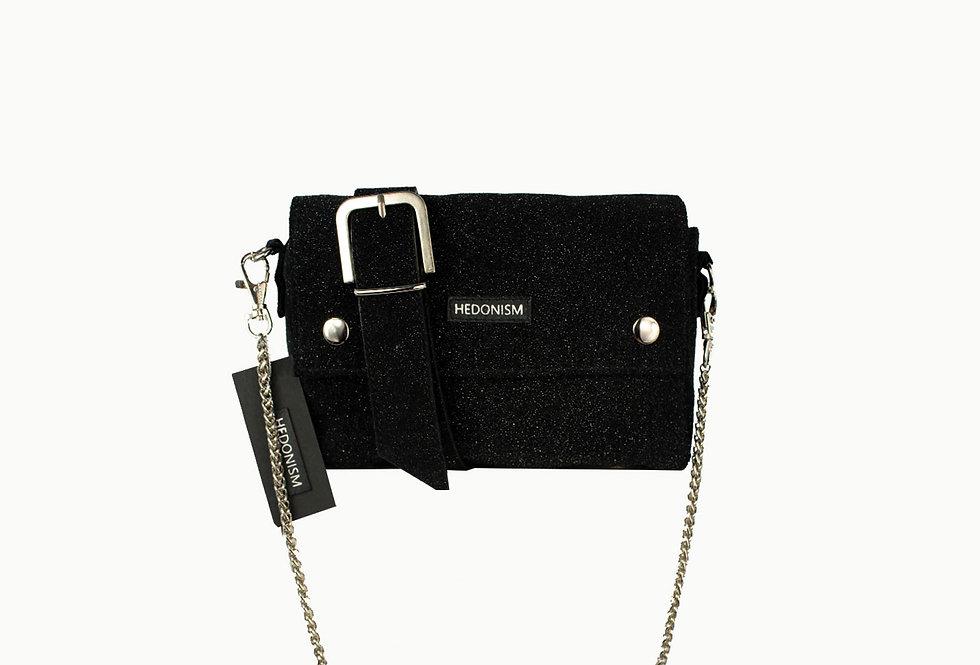 """""""Back to black"""" 2in1 belt bag, limited edition SAMPLE SALE"""
