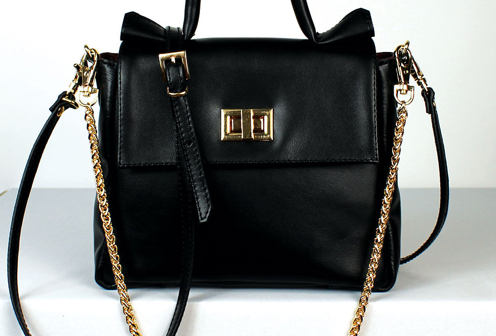 "Mini ""MM"" top handle bag"