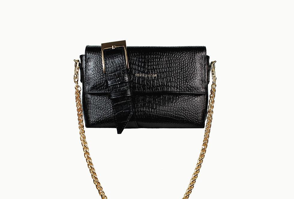 """Crocodile back in town"" belt bag 2in1"