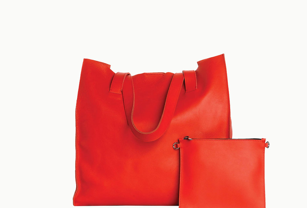 Shopper juicy red. Limited edition.