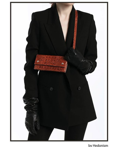 Crock effect 4in1 leather wallet.