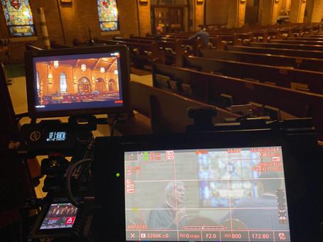 We filmed Bishop Strickland!