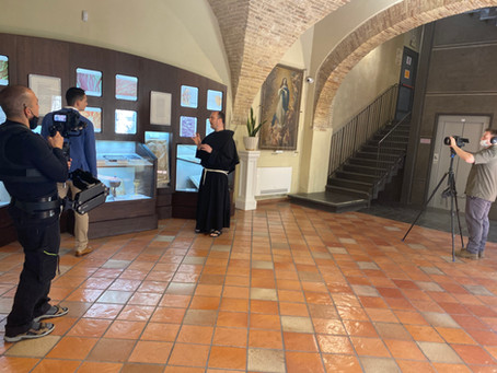 Filming in Lanciano!
