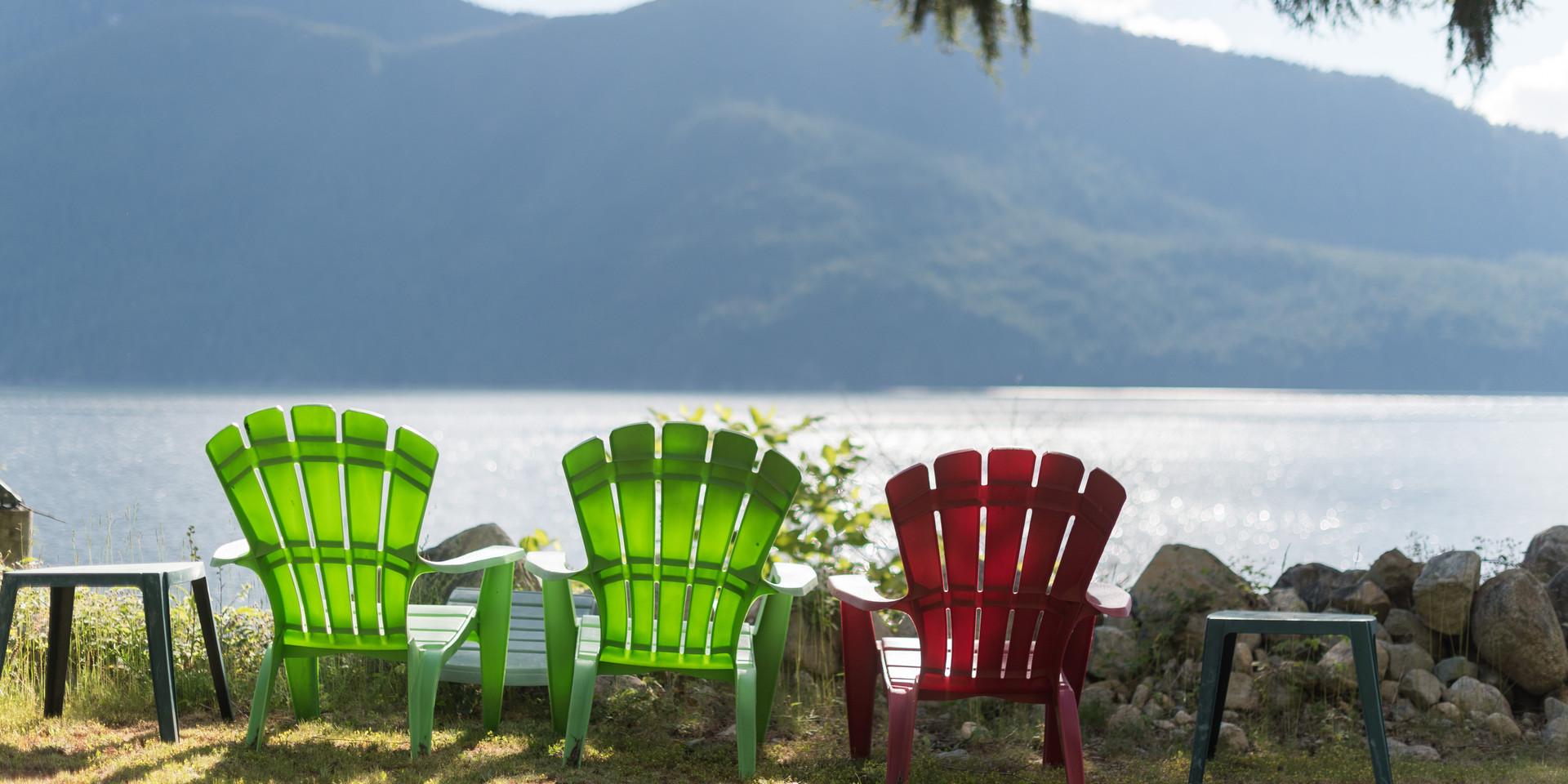 Relax at Klahoose Resort
