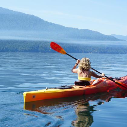 Sea kayaking, stand-up paddle boarding, ocean swimming