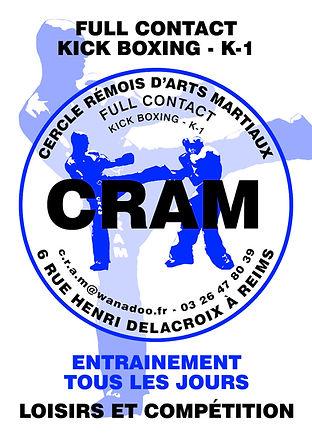 CRAM , ARTS MARTIAUX REIMS. Full contact, Kick Boxing et K-1