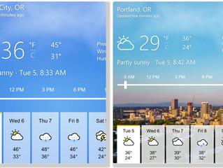 Weather Worries?