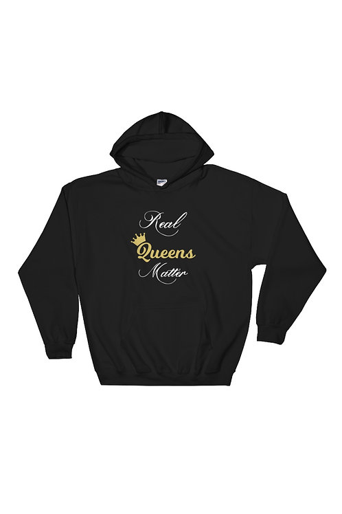 Real Queens Matter Pullover Hoodie