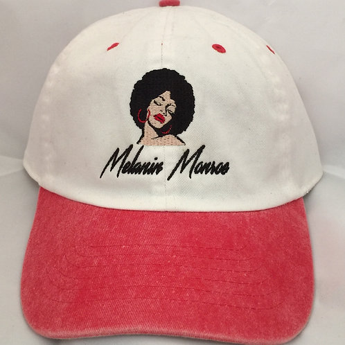 Melanin Monroe Dad Hat