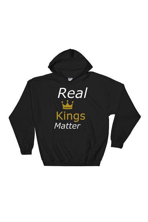 Real Kings Matter Pullover Hoodie