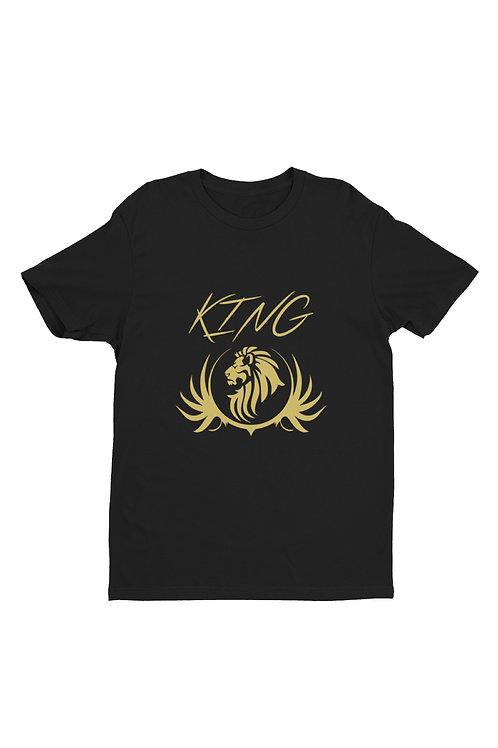 Lion head shirt - black kings shirt - leo shirt