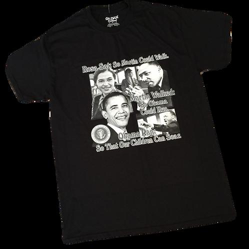 Unisex Rosa Parks Martin Luther King Obama Shirt