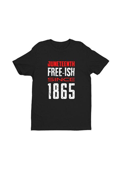 Unisex Juneteenth Premium Short Sleeve Shirt - Free Ish Shirt
