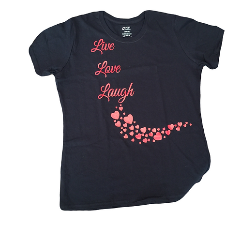 Short Sleeve Live, Love & Laugh Tee