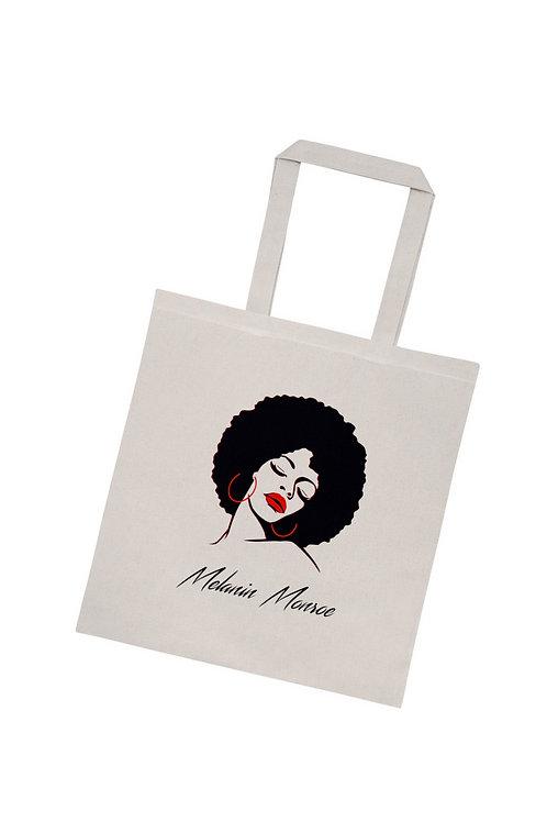 Melanin Monroe Tote Bag