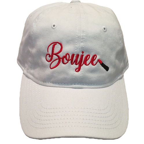 Embroidered Boujee Dad Hat